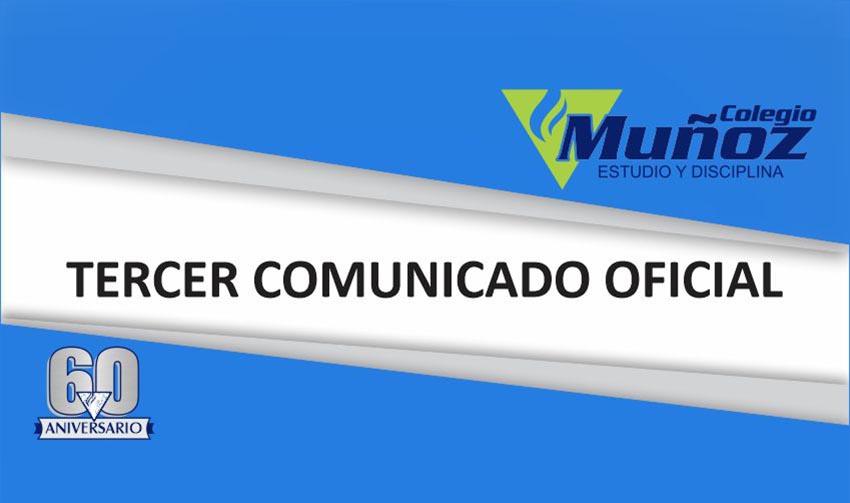 Tercer Comunicado Especial