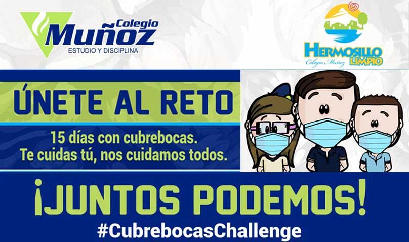 #CubrebocasChallenge
